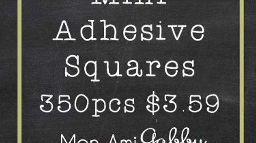 Mini Adhesive Squares