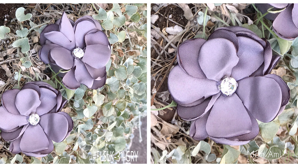 Grey Satin Flower