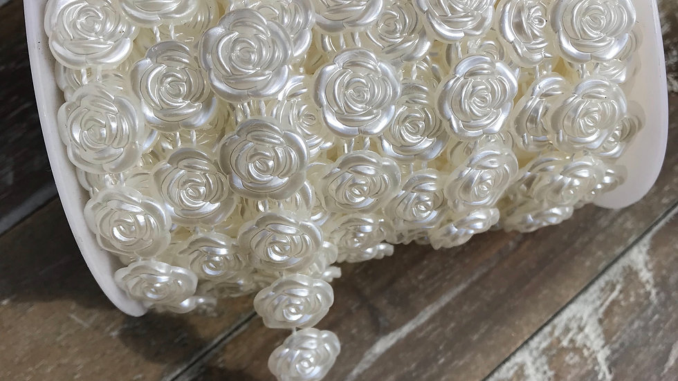 Flower Pearl Trim