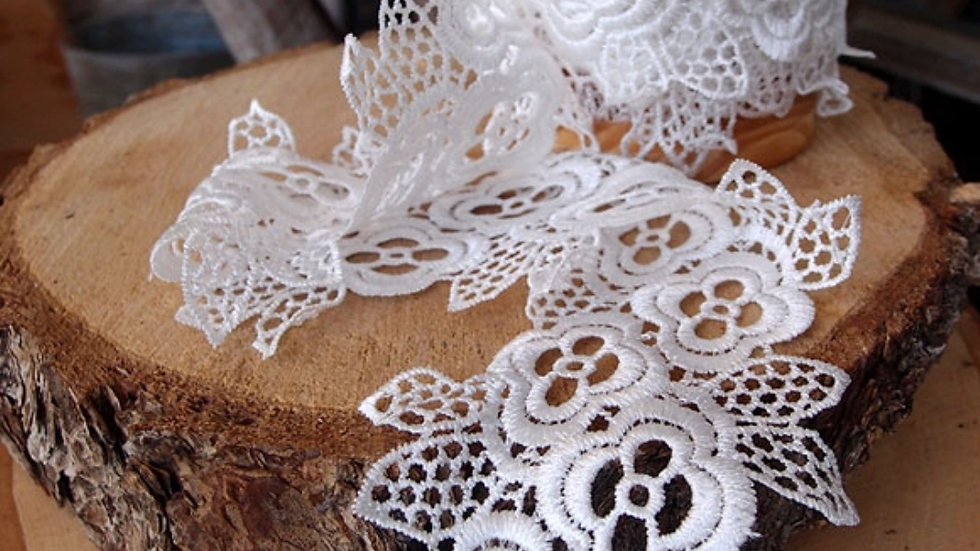 Embroidery Floral Lace Ribbon
