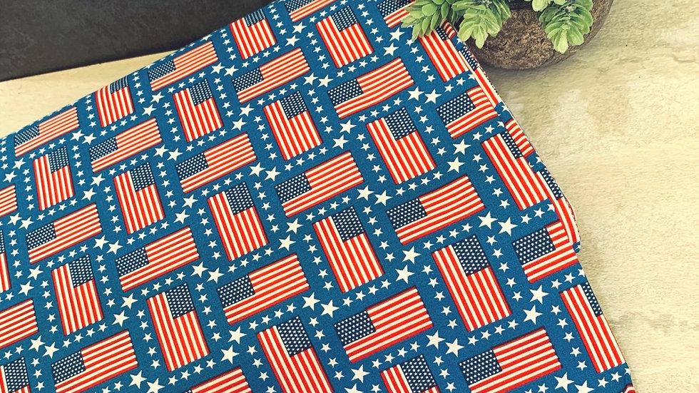 Patriotic Cotton Fabric