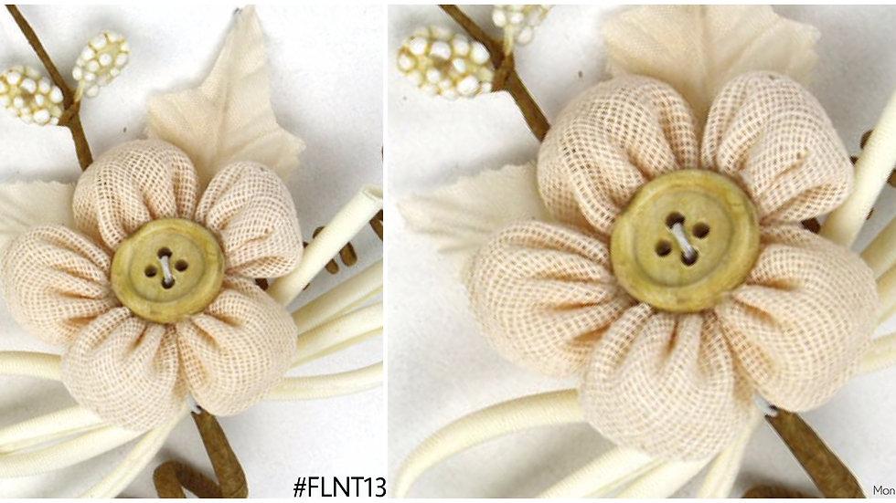 Linen Single Flower Spray