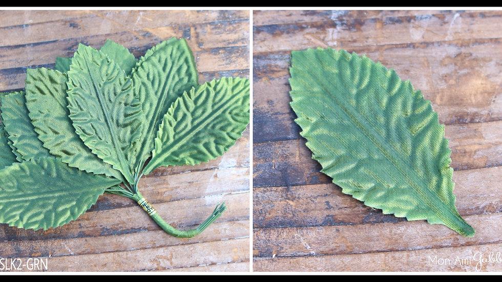 """Embossed Satin Leaf 1"""""""