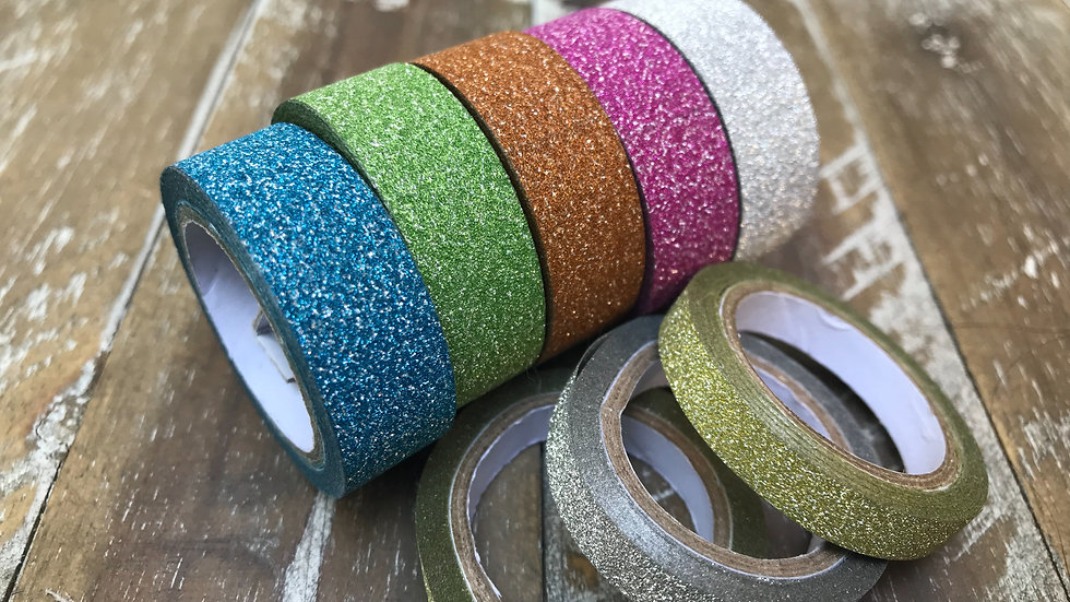 Glitter Decorative Tape