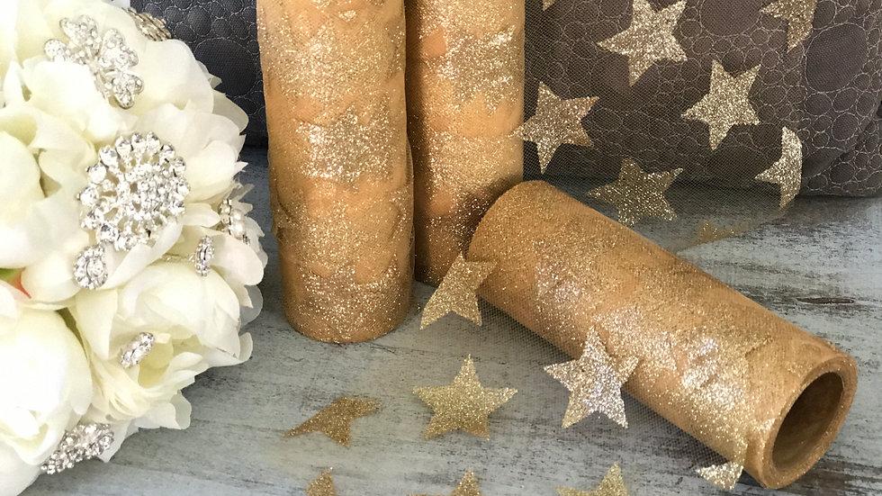 Glitter Star Tulle