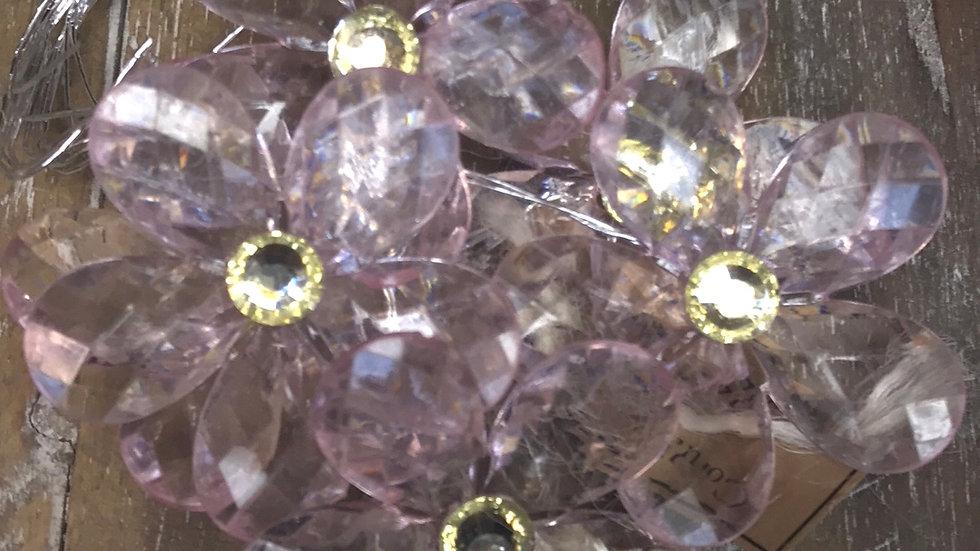 Set # AZ3  Crystal Flowers