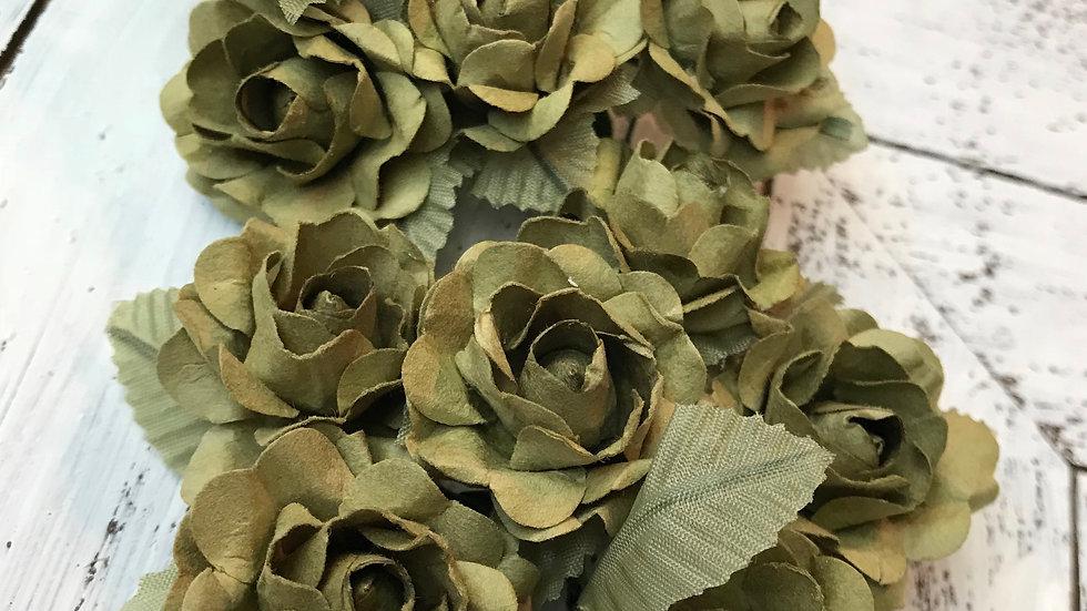 Victorian Rose Paper Bloom
