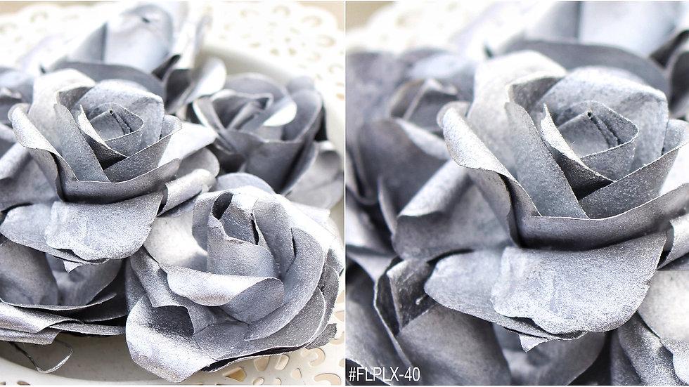 "Paper Bloom- Metallic -SIZE 2.25"""