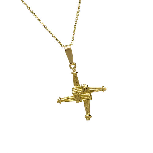 10K Gold St Brigid's Cross