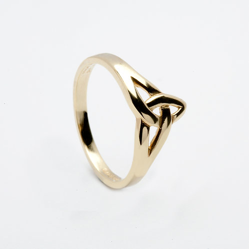 Ladies 14K Gold Trinity Knot Ring