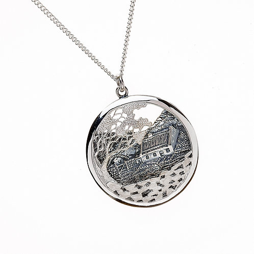 "Sterling Silver ""The Quiet Man"" cottage"
