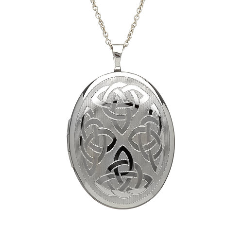Sterling Silver Celtic Knot Locket