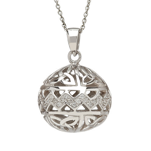 Sterling Silver Trinity Ball