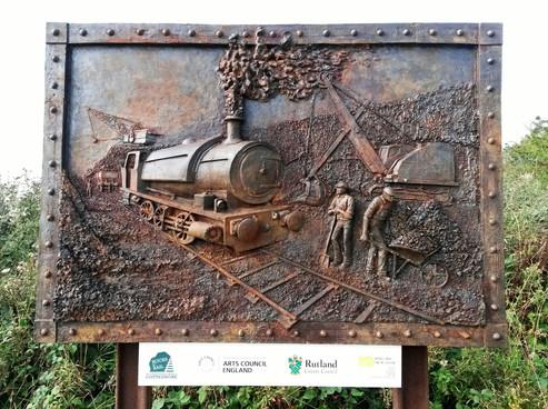 Iron Ore Quarry - Rocks By Rail - Rutland