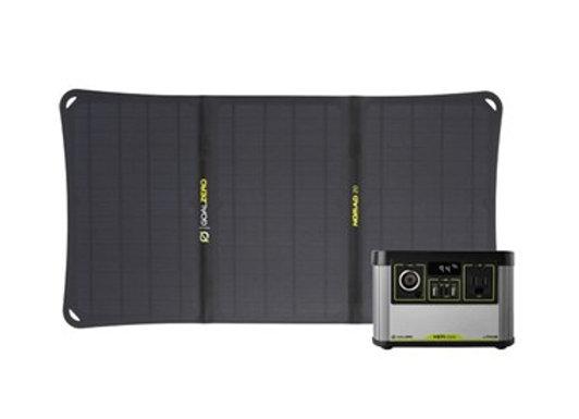 Set Goal Zero Yeti 200X Portable Power Station & Nomad 20 Solar Kit