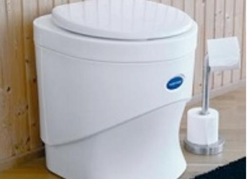 Separett Weekend -Toilette für die Alp, im Ferienhaus oder im Eigenheim
