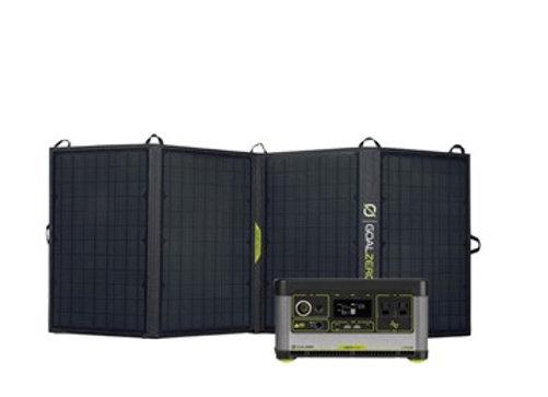 Set Goal Zero Yeti 500X Power Station & Nomad 50 Solar Kit