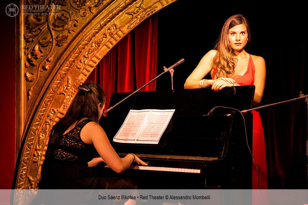 Duo Sàenz Bikotea • Red Theater