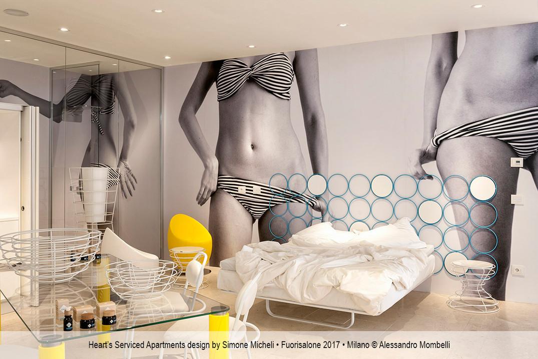 Heart's Serviced Apartments design by Simone Micheli • Fuorisalone 2017 • Milano