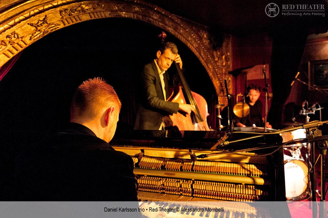 Daniel Karlsson trio • Red Theater