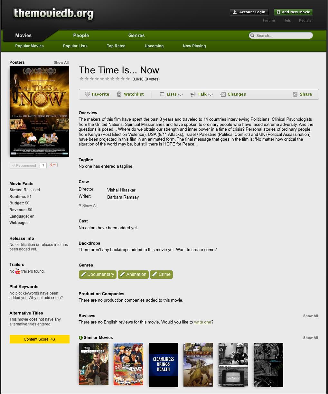 The MovieDB