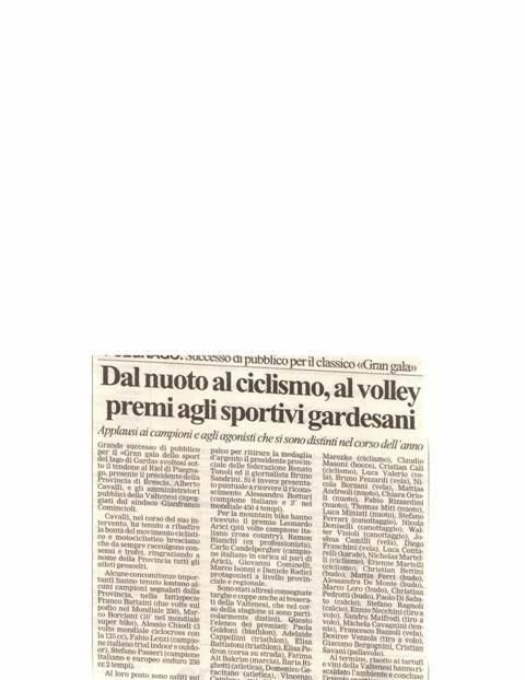 Giornale di Brescia-Italia-December 2003
