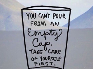 Fill up your own cup