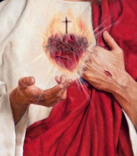 "detail ""SACRED HEART OF JESUS"""