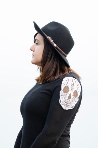Tacoma musician Kristen Marlo along Ruston Way