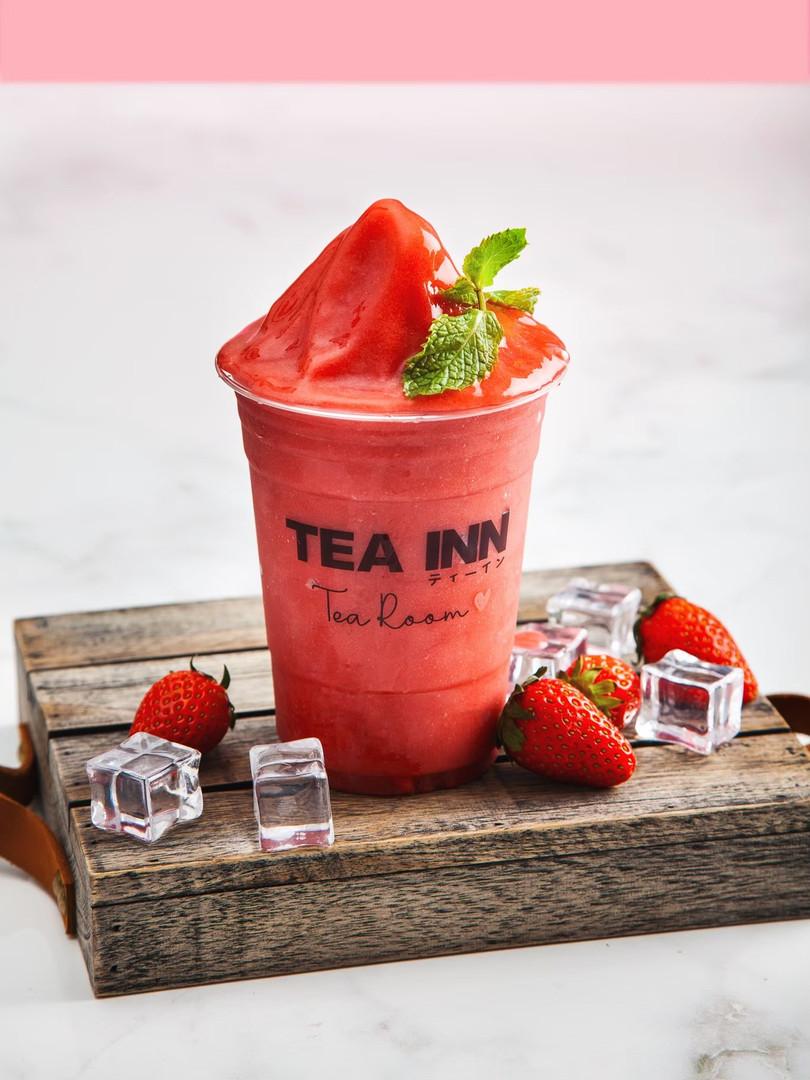 Very strawberry frappy