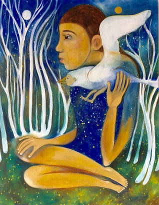 girl who wears the cosmos