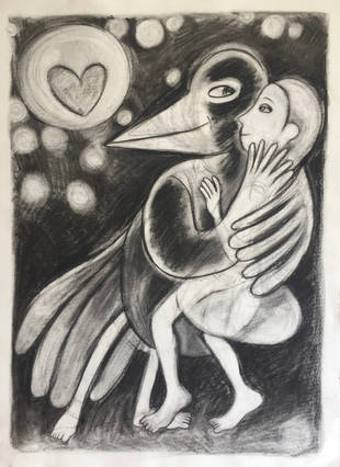 safe in the arms of a magpie