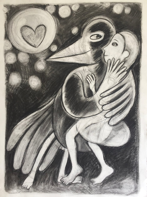 in the arms of the magpie