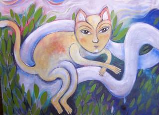 feline being (detail)