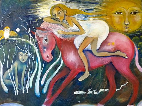 pink dream horse