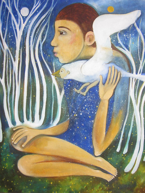 child wearing the cosmos