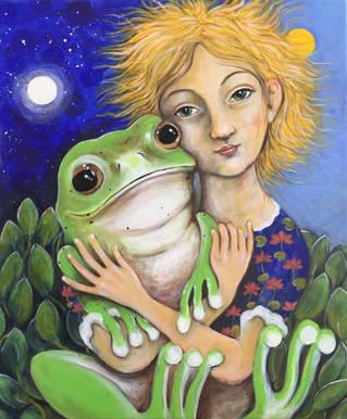 frog girl