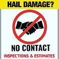 hail damage free estimates northern illi
