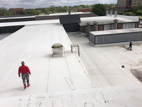 commercial industrial roofing experts il