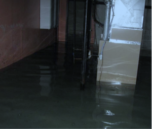 Don't declare your basement flooded, instead state the cause.