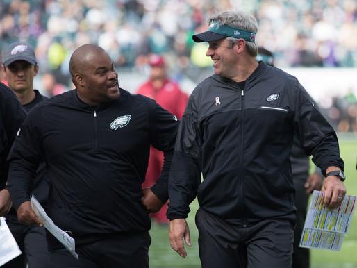 Philadelphia Eagles coach tests positive for COVID-19.