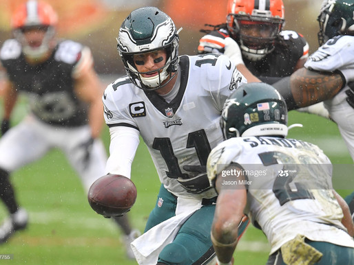 Recap and takeaways from the Eagles loss to the Browns.