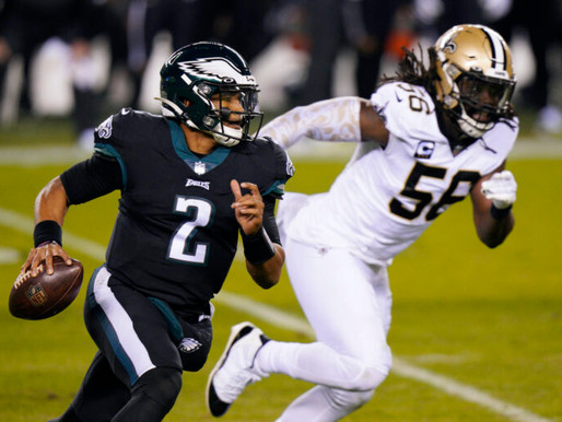 Recap and takeaways from the Eagles victory over the Saints.
