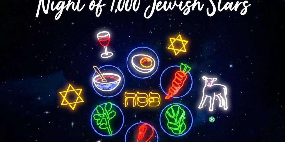 "Clubhouse Passover Seder ""Night of 1,000 Jewish Stars"""