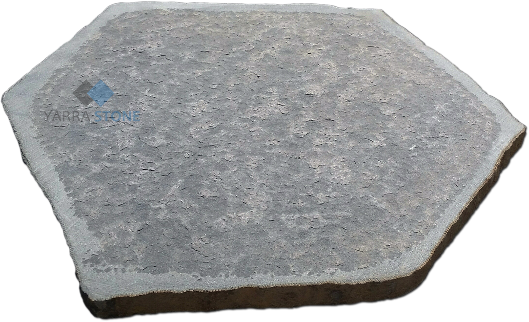 Bluestone flamed steppers 500-600mm