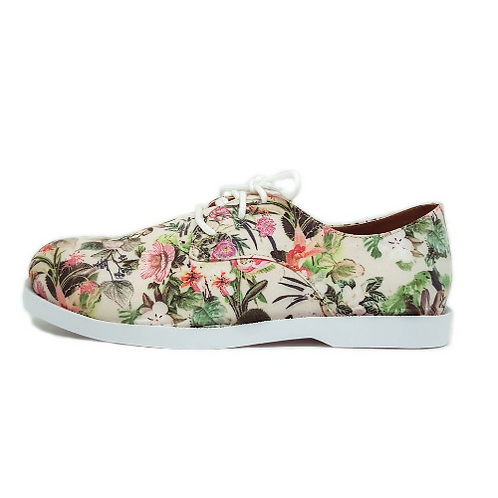 Oxford Traditional Floral White
