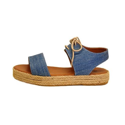 Sandal Flatform Jeans