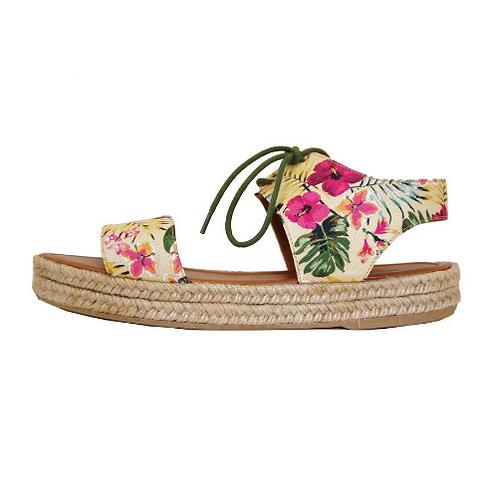 Sandal Flatform Tropical