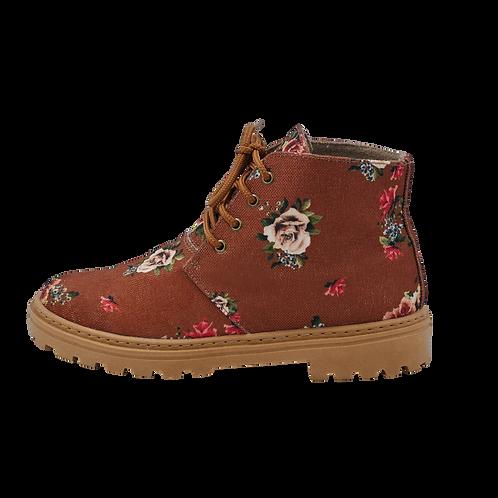 Ankle Boot Vintage Rose