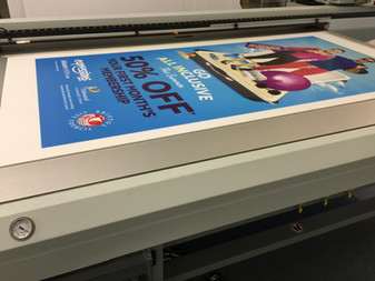 Correx Flatbed printing